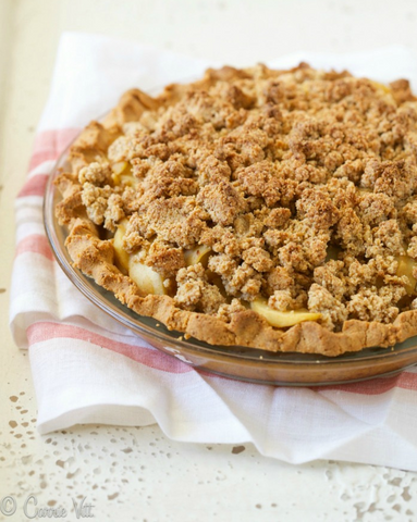 Paleo Apple Pie Recipe by Deliciously Organic