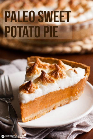 Paleo Sweet Potato Pie Recipe by My Natural Family