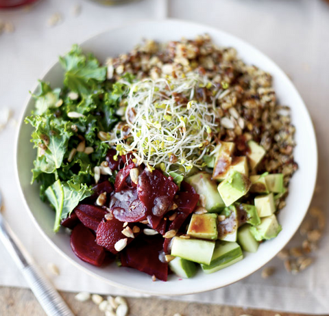 Detox Kale and Quinoa Salad Recipe by Pickled Plum
