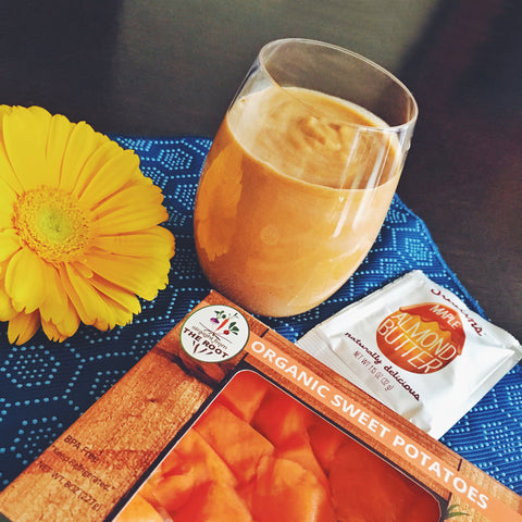 Sous Vide Sweet Potato Breakfast Smoothie