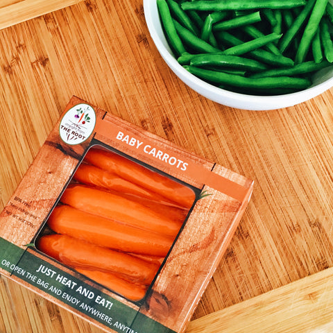 Straight from The Root Sous Vide Baby Carrots