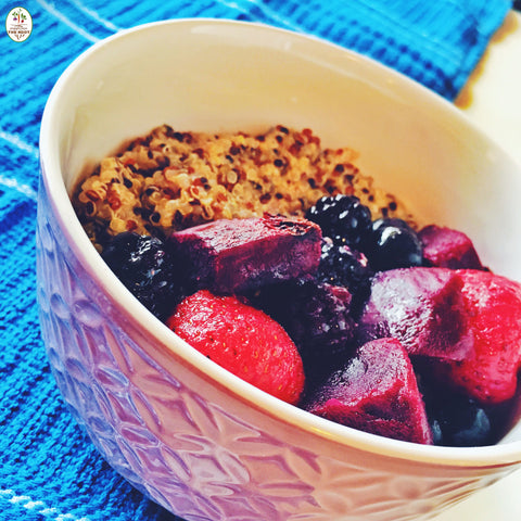 How To Make The Best Beet & Berry Quinoa Bowl Ever!