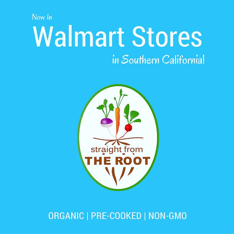 Straight from The Root now in Walmart Stores in Southern California.