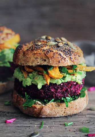 The Ultimate Veggie Burger Recipe by The Awesome Green