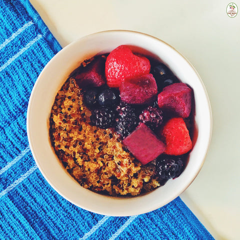 Learn to Make the Best Beet & Berry Quinoa Bowl Ever