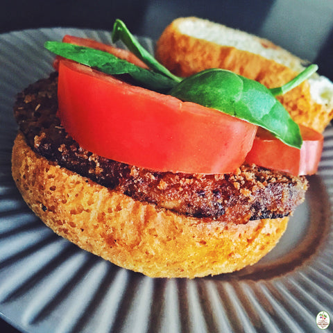 The Best of Veggie Burgers. We Promise They're Beautiful.