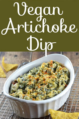 Baked Spinach & Artichoke Dip Recipe by The Veg Life