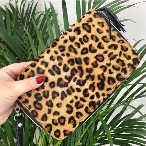 Luxe Cowhide Wallet