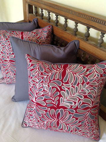 Leaf Design Cushion Covers