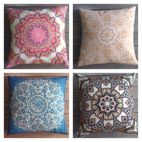 Mandala Design Cushion Covers