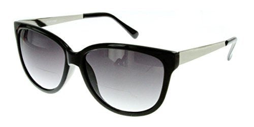"""Faux Paw"" Women's Designer Inspired Cateye Fashion ""Inner""Bifocal Sunglasses - Aloha Eyes - 4"