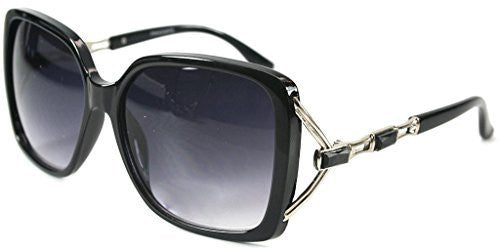 """Sea Castle"" Fashion Sunglasses with Crystal and Bamboo Embellishments for Women - Aloha Eyes - 4"