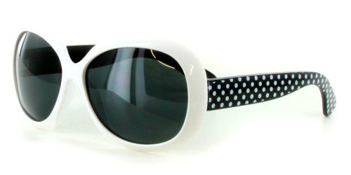 """Polka Dots"" Polarized Kids Sunglasses in Five Gorgeous Colors - 100% UV - Aloha Eyes - 5"