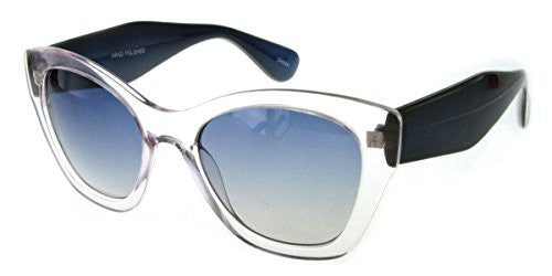 """Crystal Queen"" Women's Translucent Cateye Designer Inspired Fashion Sunglasses - Aloha Eyes - 2"