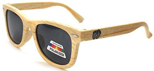 """Hang Ten"" Baby Size Polarized Wayfarer Unisex Sunglasses for Boys and Girls Ages 0-2 100% UV - Aloha Eyes - 4"