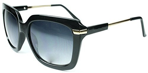 """Leah"" Oversized Square Designer Inspired Fashion Sunglasses for Women - Aloha Eyes - 5"