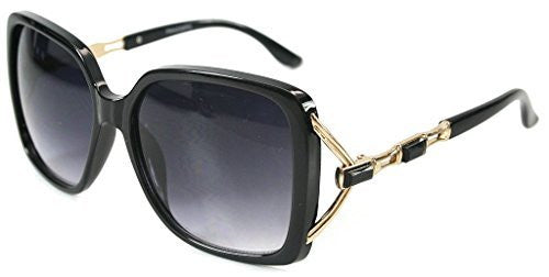 """Sea Castle"" Fashion Sunglasses with Crystal and Bamboo Embellishments for Women - Aloha Eyes - 5"