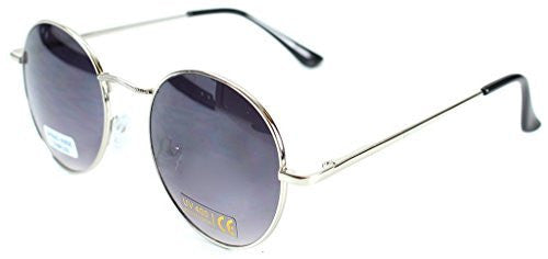 """Ava"" Round Designer Inspired Fashion Sunglasses with Spring Hinges for Women - Aloha Eyes - 1"