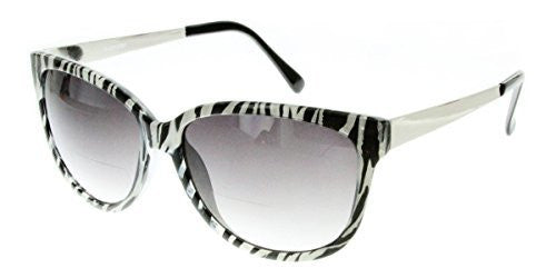 """Faux Paw"" Women's Designer Inspired Cateye Fashion ""Inner""Bifocal Sunglasses - Aloha Eyes - 3"