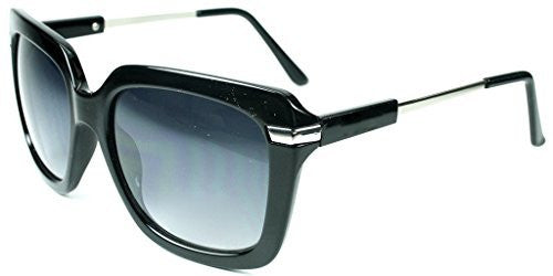 """Leah"" Oversized Square Designer Inspired Fashion Sunglasses for Women - Aloha Eyes - 3"