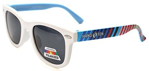 """Hang Ten"" Baby Size Polarized Wayfarer Unisex Sunglasses for Boys and Girls Ages 0-2 100% UV - Aloha Eyes - 2"