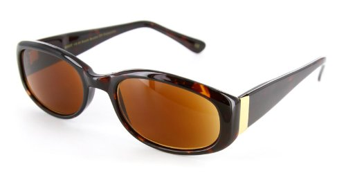 Bimini Fashion Full Reading Sunglasses with Vintage Design and a RX-able Frame - 51mm x 20mm x 140mm
