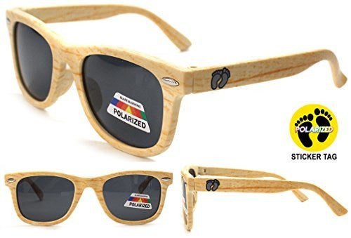 """Hang Ten"" Baby Size Polarized Wayfarer Unisex Sunglasses for Boys and Girls Ages 0-2 100% UV - Aloha Eyes - 1"