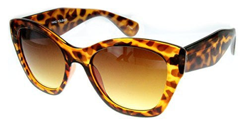 """Crystal Queen"" Women's Translucent Cateye Designer Inspired Fashion Sunglasses - Aloha Eyes - 4"