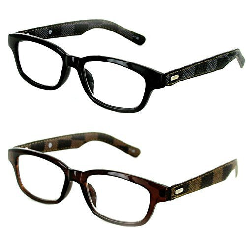 "Aloha Eyewear ""Sicily"" Retro 52mm Readers, Ultra-Modern (pack of 2, 4, 6, 8, 10, or 12)"