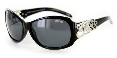 """Adori92035"" Elegant Polarized Vintage-Inspired Sunglasses - 100% UV"