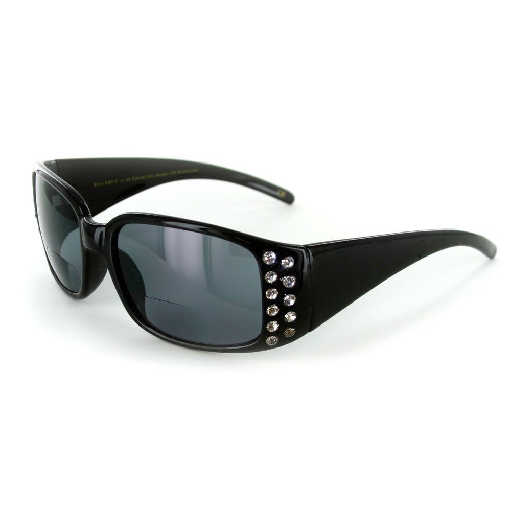"""Crystal Sun"" Bifocal Reading Sunglasses - 100%UV for Youthful and Active Women - Aloha Eyes - 2"