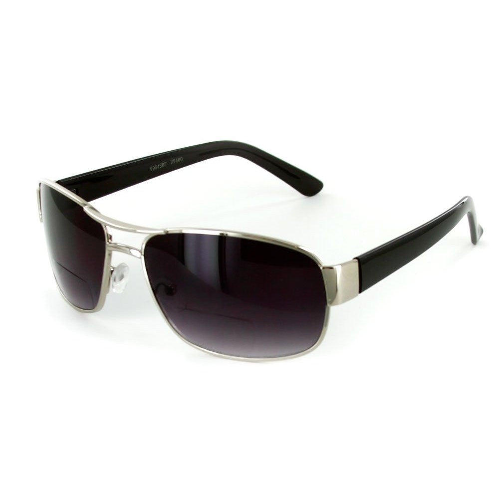 """Top Gun"" Large Aviator Bifocal Sunglasses - Aloha Eyes - 2"