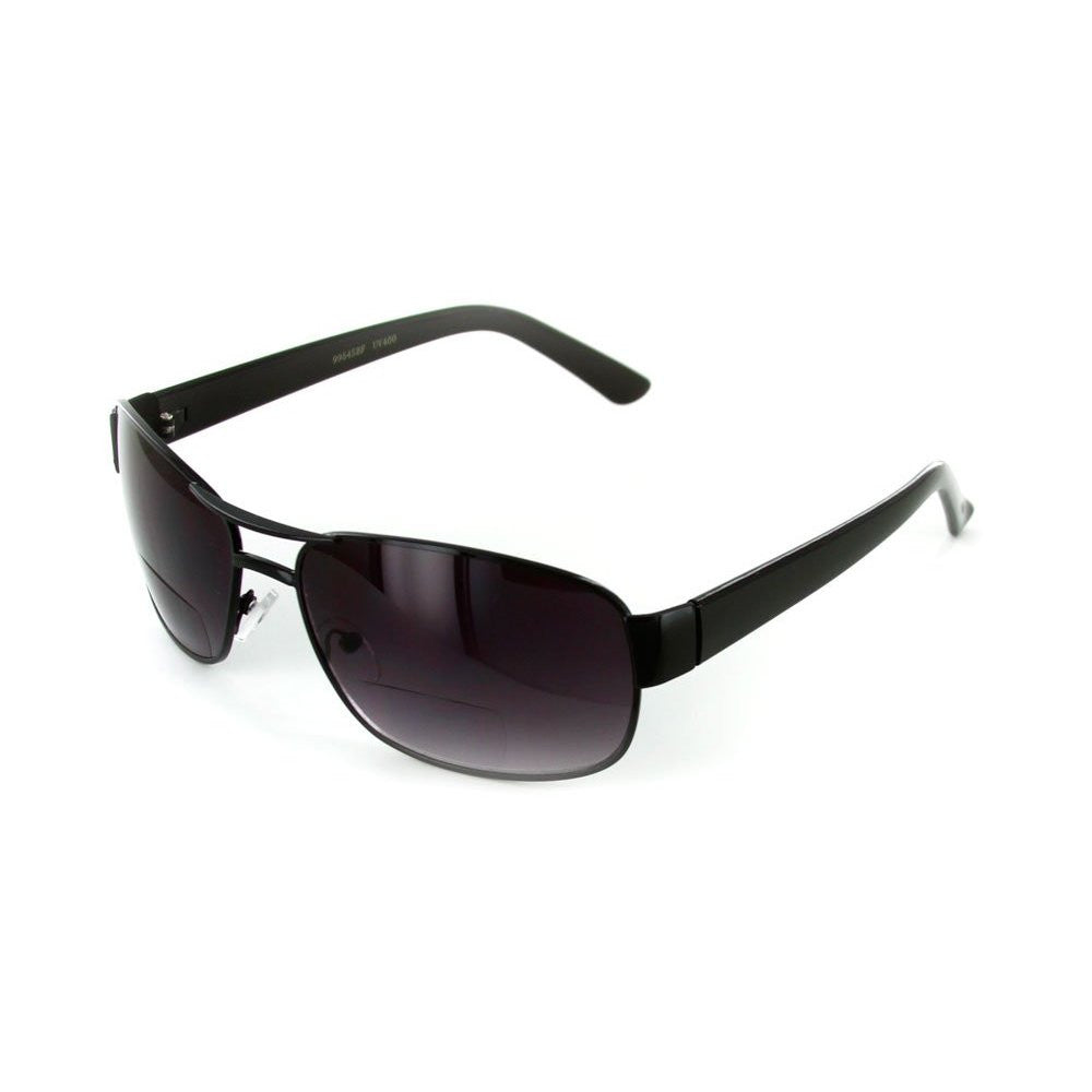 """Top Gun"" Large Aviator Bifocal Sunglasses - Aloha Eyes - 3"