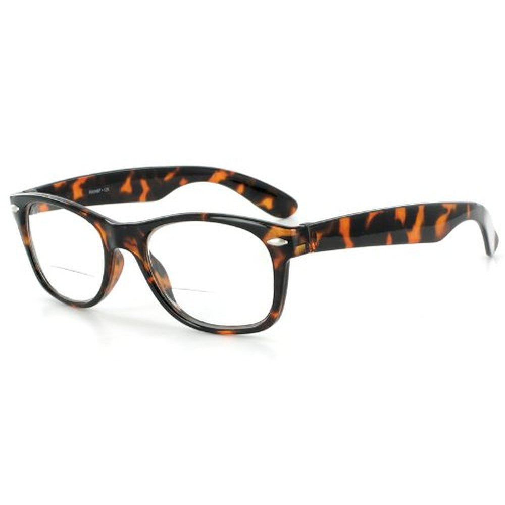 """Hepcat"" Fashion Bifocal Readers with Vintage Retro Design and a RX-able frame - 50mm x 18mm x 142mm - Aloha Eyes - 2"