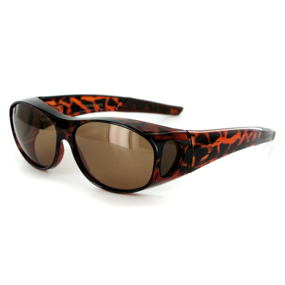 """Hideaways"" Small to Medium Polarized Over-Prescription Sunglasses - Aloha Eyes - 2"
