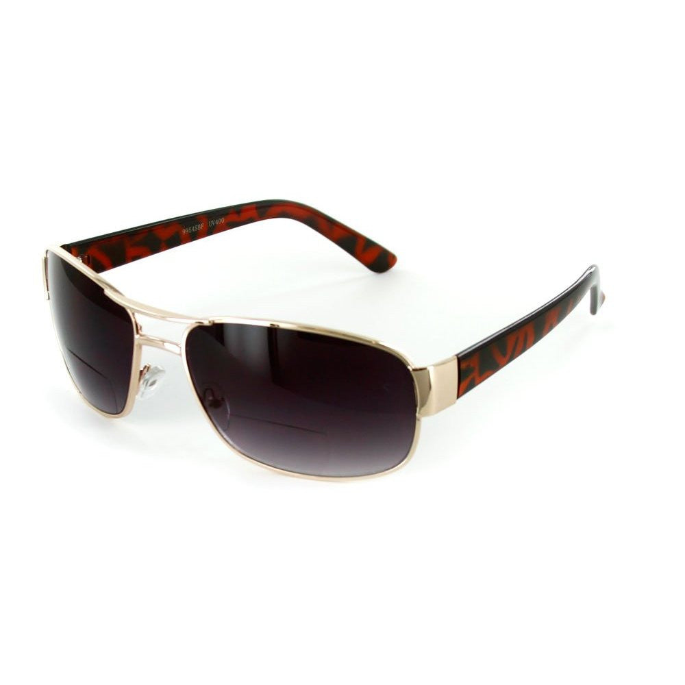 """Top Gun"" Large Aviator Bifocal Sunglasses - Aloha Eyes - 4"