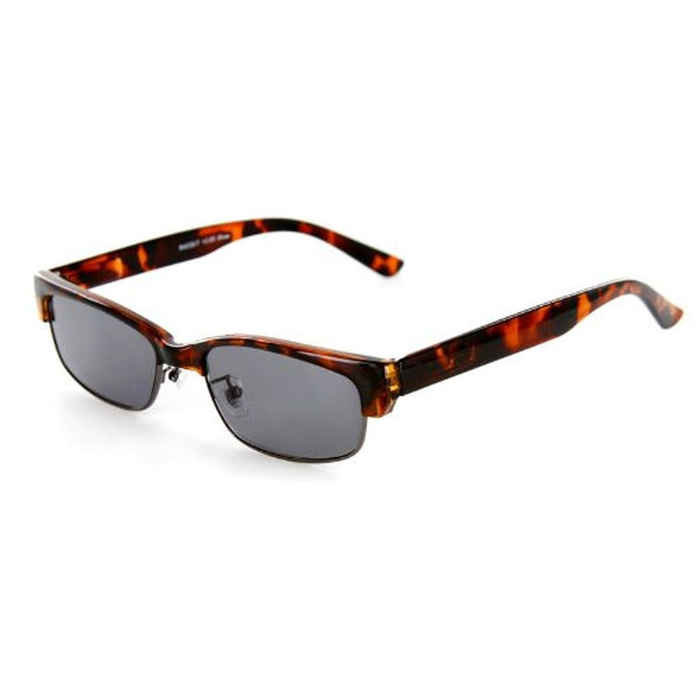 """Base Camp"" Full-Lens Reading Sunglasses (No Bifocal) Spring Temples - Aloha Eyes - 4"