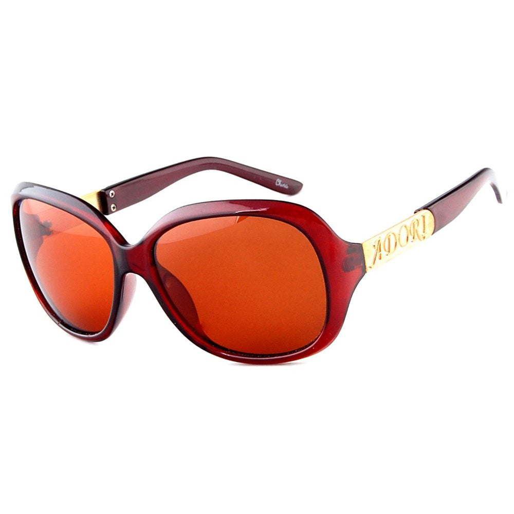 """Adori 92020"" Polarized Designer Sunglasses with Classic Frames for Stylish Women - Aloha Eyes - 2"