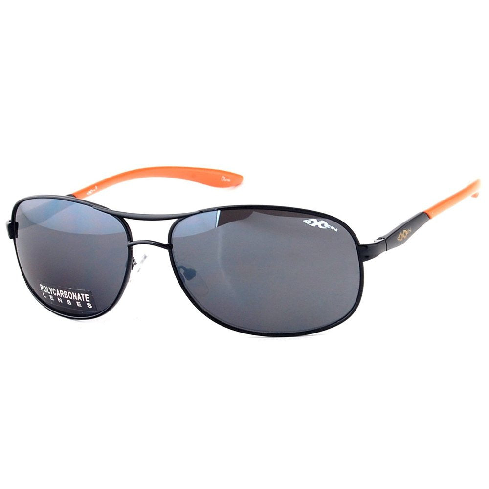 """Oxen Revolution 93006"" Sports Aviator Sunglasses with Flash Mirror Coating - Aloha Eyes - 4"