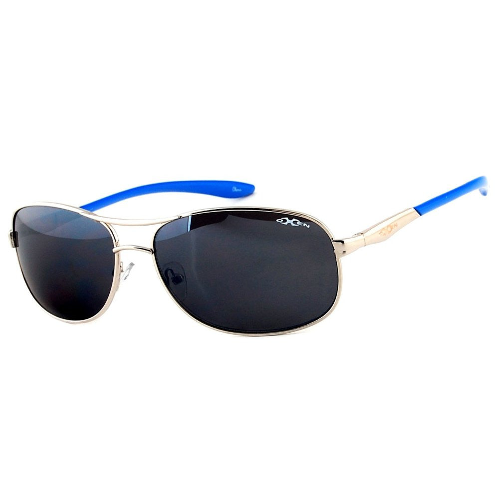 """Oxen Revolution 93006"" Sports Aviator Sunglasses with Flash Mirror Coating - Aloha Eyes - 3"
