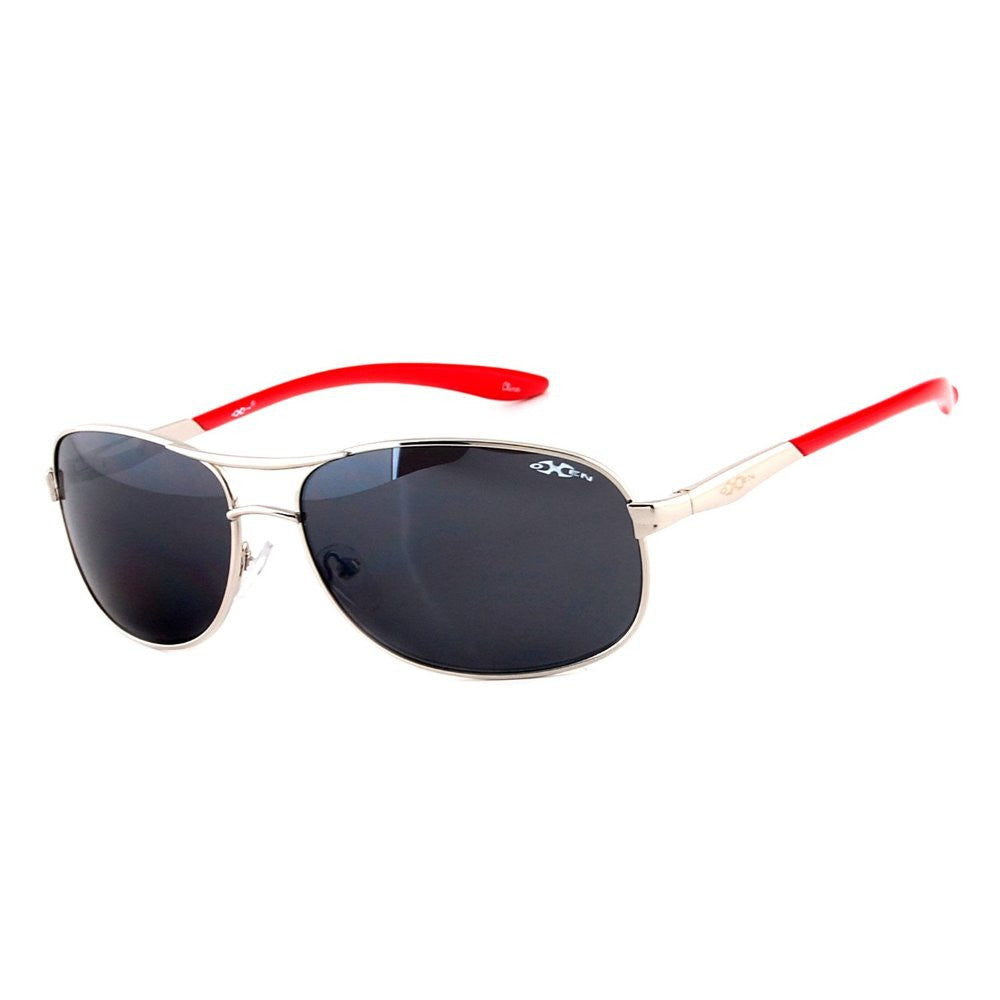 """Oxen Revolution 93006"" Sports Aviator Sunglasses with Flash Mirror Coating - Aloha Eyes - 2"