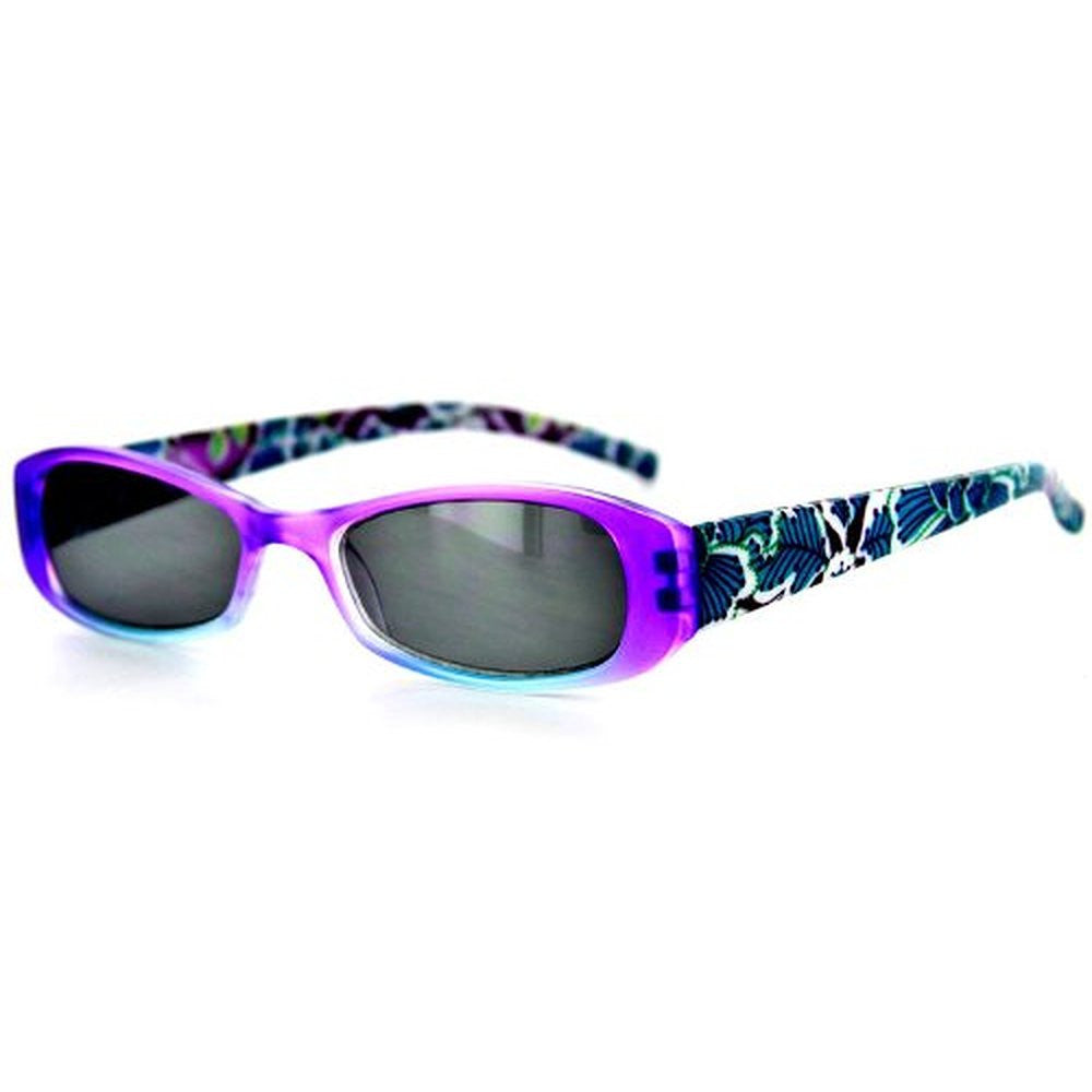 """Sun Orchard"" Fashion Non-Bifocal Reading Sunglasses with Floral Design - Aloha Eyes - 4"