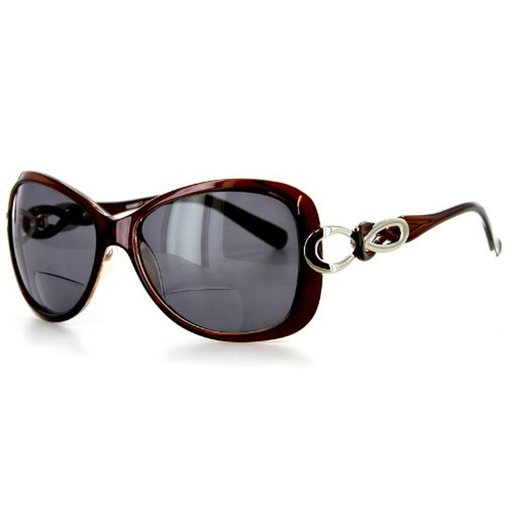 """Sao Paulo"" Fashion Bifocal Sunglasses with Large Lenses and Optical Frames - Aloha Eyes - 2"
