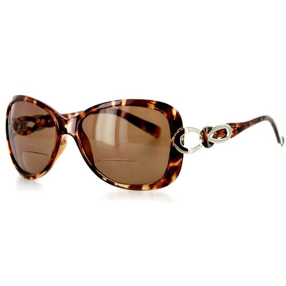 """Sao Paulo"" Fashion Bifocal Sunglasses with Large Lenses and Optical Frames - Aloha Eyes - 5"
