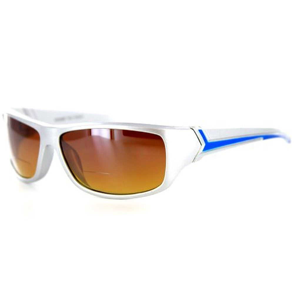 """Voyager"" Bifocal Sunglasses with Wrap-Around Sport Design for Youthful and Active Men - Aloha Eyes - 4"