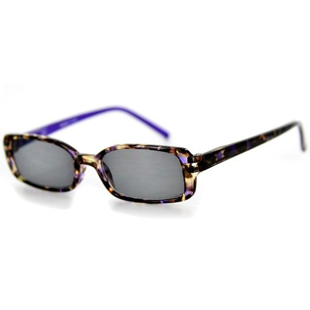 """Holidays"" Fashion Non-Bifocal Reading Sunglasses with Multicolored Tortoise Design - Aloha Eyes - 3"
