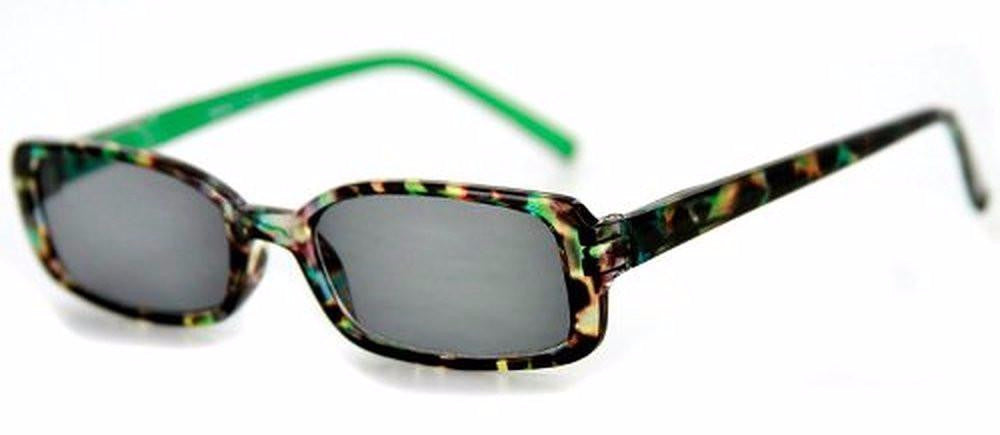 """Holidays"" Fashion Non-Bifocal Reading Sunglasses with Multicolored Tortoise Design - Aloha Eyes - 1"