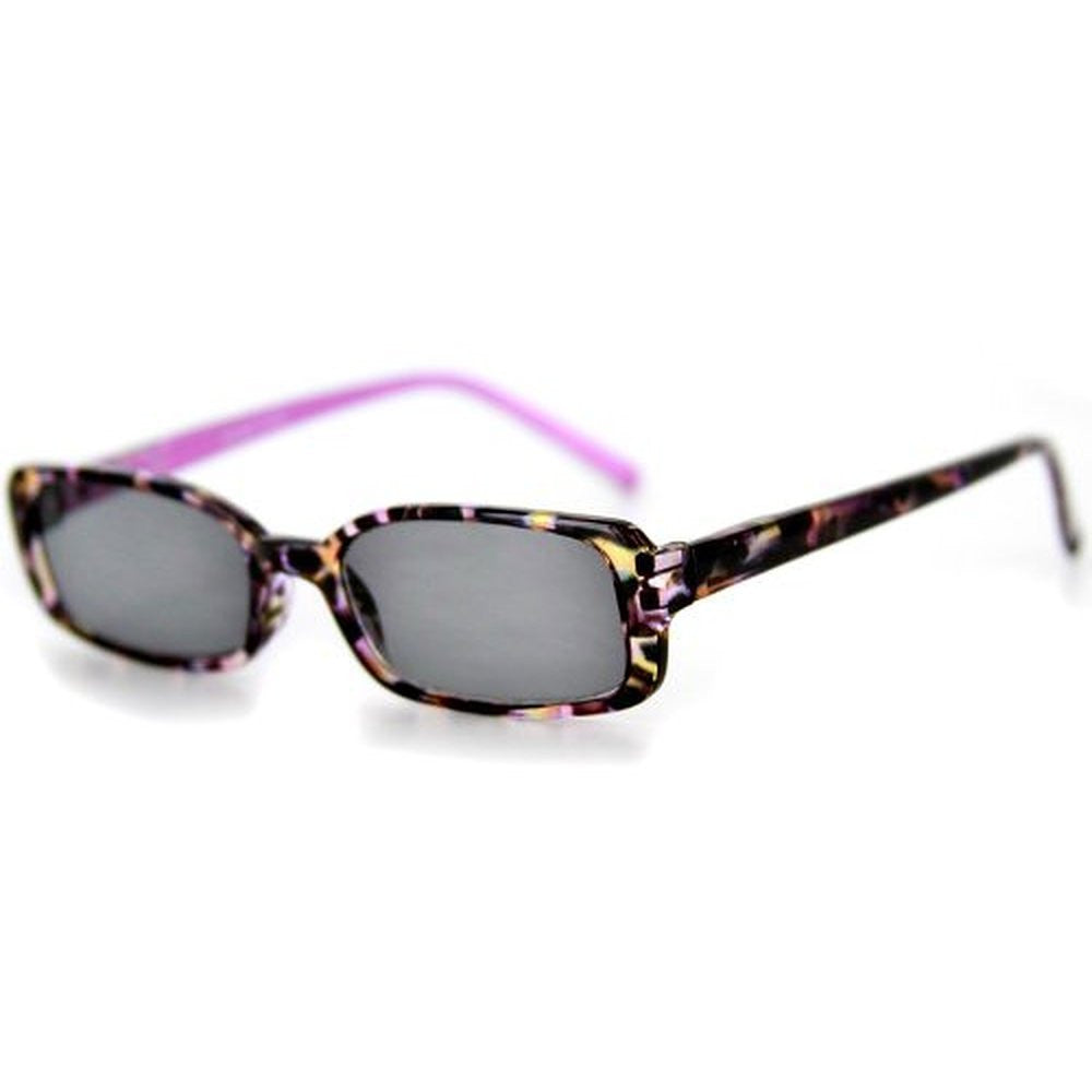 """Holidays"" Fashion Non-Bifocal Reading Sunglasses with Multicolored Tortoise Design - Aloha Eyes - 2"