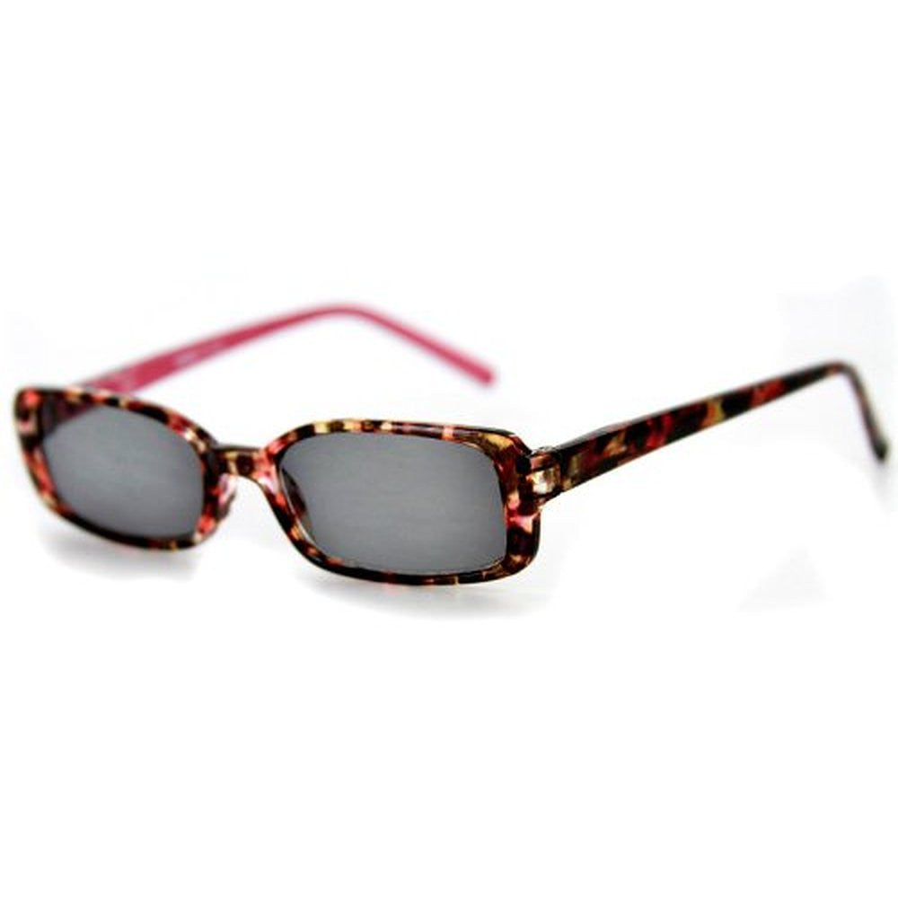 """Holidays"" Fashion Non-Bifocal Reading Sunglasses with Multicolored Tortoise Design - Aloha Eyes - 4"