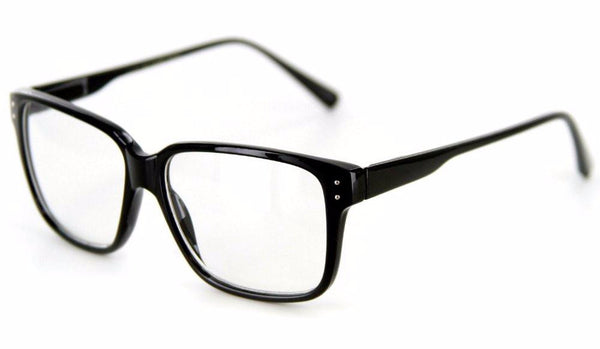 """Quantum"" Square Shaped Clear Fashion Glasses for Trendsetters 100% UV Protection - Aloha Eyes - 1"